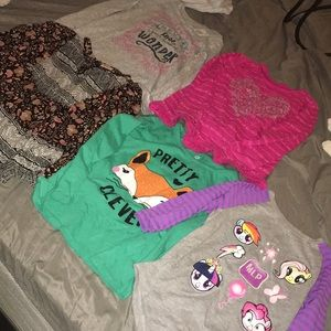 Other - Girls Long Sleeve Lot size 5